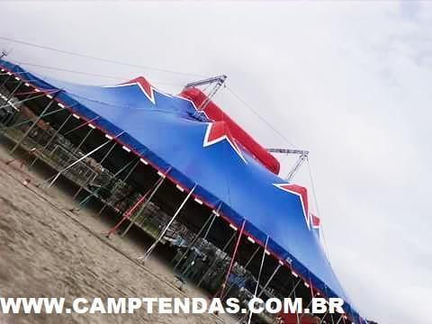 Fábrica de lona de circo