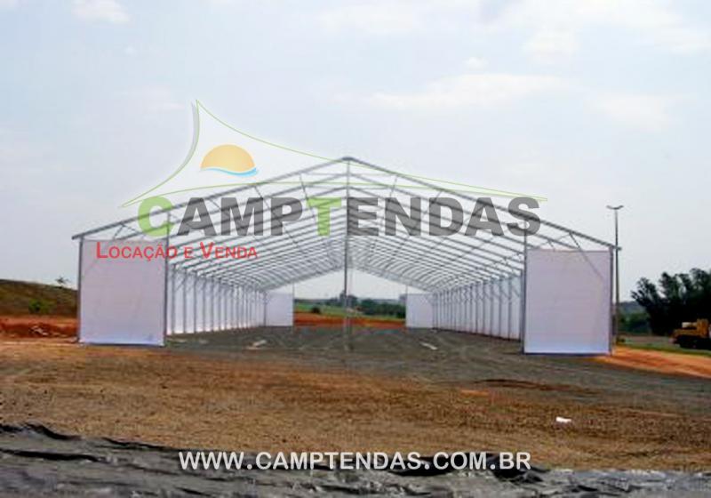 Locação tenda galpão
