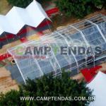Aluguel de tendas galpão