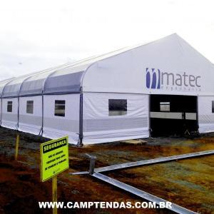 Aluguel de tendas para armazenagem